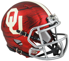 Oklahoma (Wood Satin Red) Speed Mini Helmet