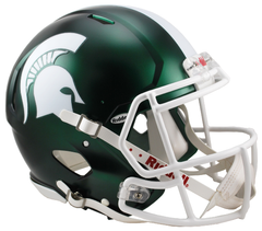 Michigan State (Satin) Revolution Speed Authentic Helmet