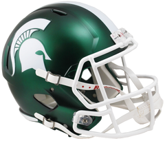 Michigan State (Satin) Speed Replica Helmet