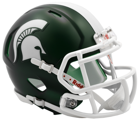 Michigan State (Satin) Speed Mini Helmet