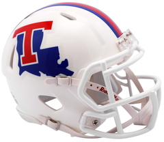 Louisiana Tech (White) Speed Mini Helmet