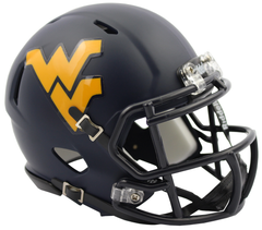 West Virginia (2016 Satin) Speed Mini Helmet