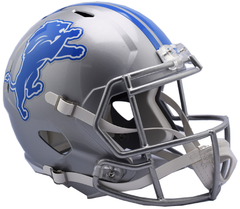 Detroit Lions Speed Replica Helmet