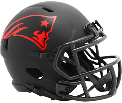 New England Patriots (Eclipse) Speed Mini Helmet