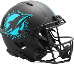 Miami Dolphins (Eclipse) Speed Authentic Helmet