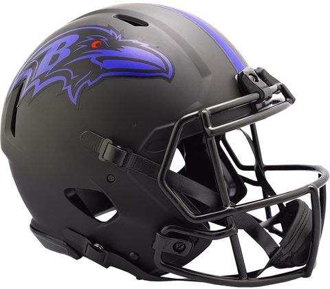 Baltimore Ravens (Eclipse) Speed Authentic Helmet