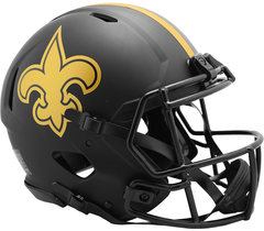 New Orleans Saints (Eclipse) Speed Authentic Helmet