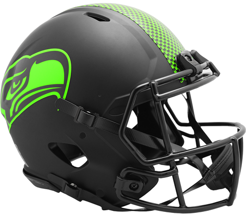 Seattle Seahawks Speed Authentic Helmet (Decal) ECLIPSE