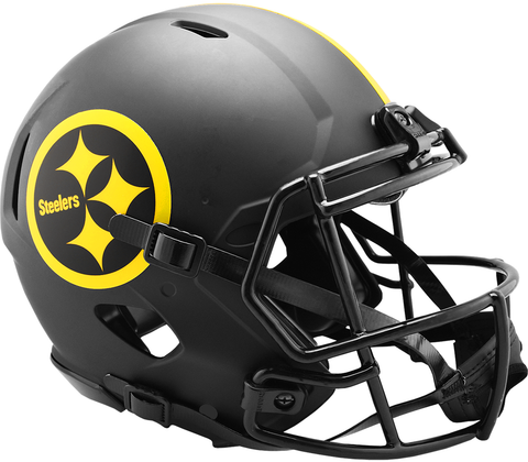 Pittsburgh Steelers (Eclipse) Speed Authentic Helmet