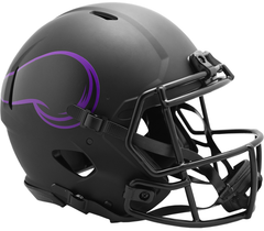 Minnesota Vikings (Eclipse) Speed Authentic Helmet