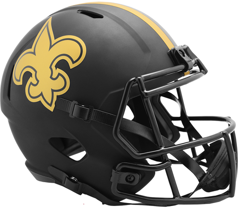 New Orleans Saints (Eclipse) Speed Replica Helmet