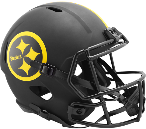 Pittsburgh Steelers (Eclipse) Speed Replica Helmet