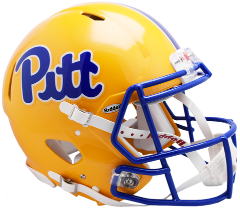 Pittsburgh Script Revolution Speed Authentic Helmet