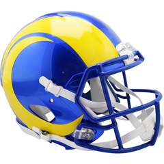 Los Angeles Rams Revolution Speed Authentic Helmet