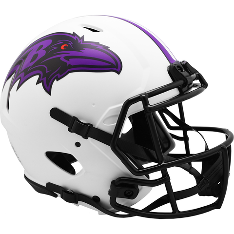 Baltimore Ravens (Lunar) Speed Authentic Helmet