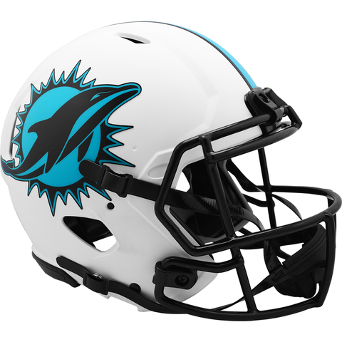 Miami Dolphins (Lunar) Speed Authentic Helmet
