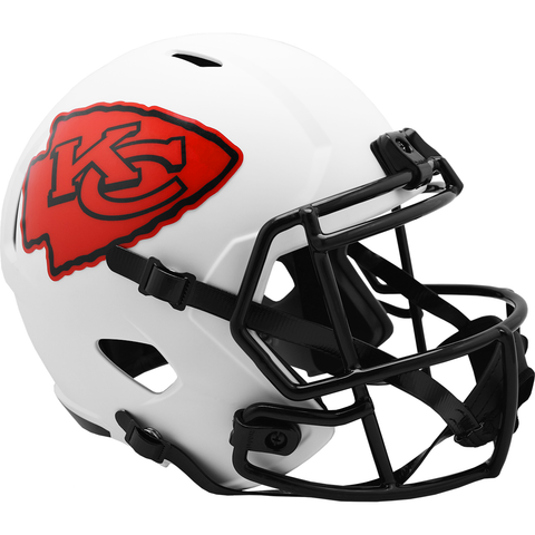 Kansas City Chiefs (Lunar) Speed Replica Helmet