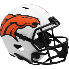 Denver Broncos (Lunar) Speed Replica Helmet