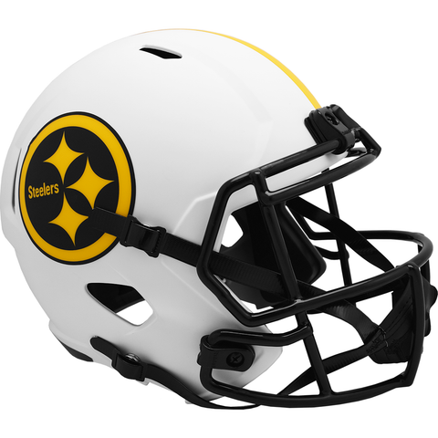 Pittsburgh Steelers (Lunar) Speed Replica Helmet