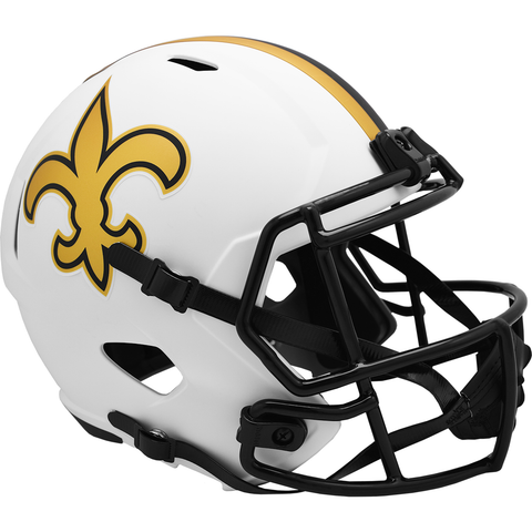 New Orleans Saints (Lunar) Speed Replica Helmet