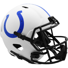 Indianapolis Colts (Lunar) Speed Replica Helmet