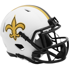 New Orleans Saints (Lunar) Speed Mini Helmet