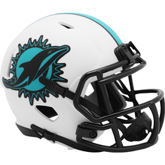 Miami Dolphins (Lunar Eclipse) Speed Mini Helmet