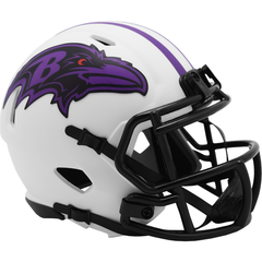 Baltimore Ravens (Lunar) Speed Mini Helmet