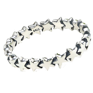 Stackable Star Ring Sterling .925