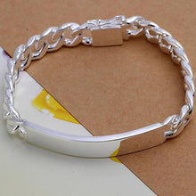 Load image into Gallery viewer, 925 Solid Silver Friendship Bracelet Jewelry