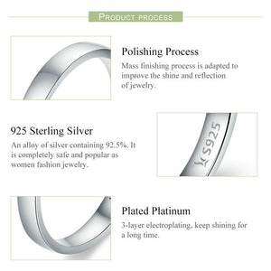 925 Sterling Silver Stackable Ring