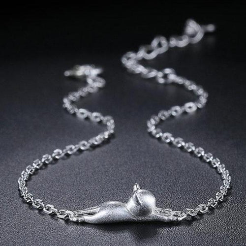 925 Sterling Cat Bracelet Jewelry