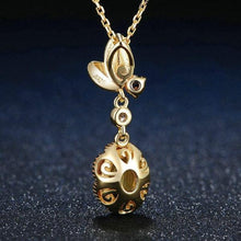 Load image into Gallery viewer, Oval Citrine 925 Sterling Silver Jewelry Pendant Necklace