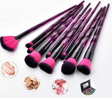 Load image into Gallery viewer, 10 pcs Makeup Brush Cosmetic Brush Set
