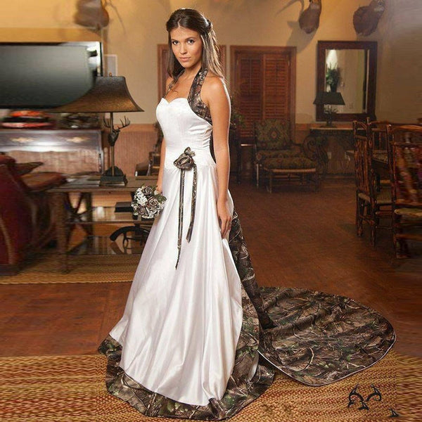 Camouflage Wedding Dresses | Mountain Savage