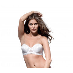 Clearance - Ivory Strapless Bra by Piorier - 123