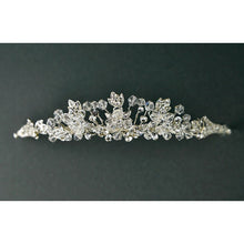 Load image into Gallery viewer, A Crystal & Diamante Tiara by Twilight Designs TLT4519 - 3cm high