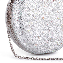 Load image into Gallery viewer, Desirée - Ivory Circular Diamante Handbag by Paradox London