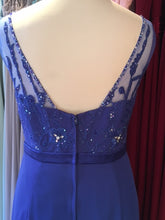 Load image into Gallery viewer, Ex Shop Sample EN363 - Royal Blue Bridesmaid Dress Size 16