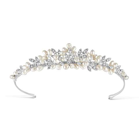 Pearl & Diamante Tiara from the Paris Collection