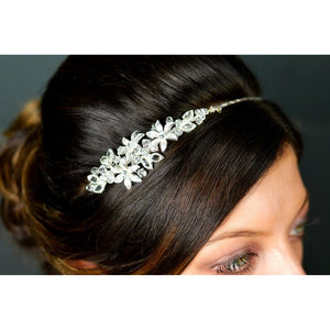 Crystal & Diamante Side Tiara by Twilight Designs TLT4595