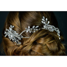 Load image into Gallery viewer, Bridal Diamante Hair Vine by Twilight Designs