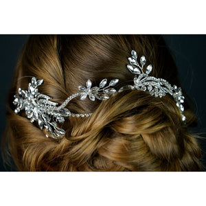 Bridal Diamante Hair Vine by Twilight Designs