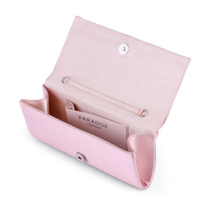Darbie -  Blush Diamanté Clutch Bag