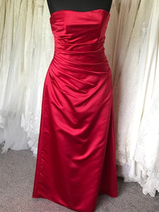 Ex Shop Sample EN040  - Corset back strapless Bridesmaid Dress by Linzi Jay - Size 20
