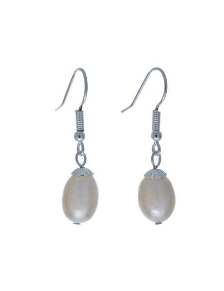 Hepburn Freshwater Pearl Pendant Earrings