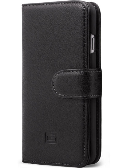 Albion in Black Wallet - iPhone 6/6S/7
