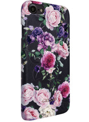 Victorian Garden - Purple Rose Snap On Case -  iPhone 7
