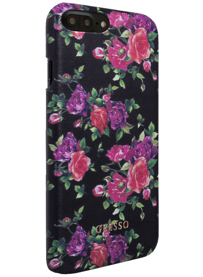 Victorian Garden -  Burgundy Roses Snap On Case -  iPhone 7 Plus