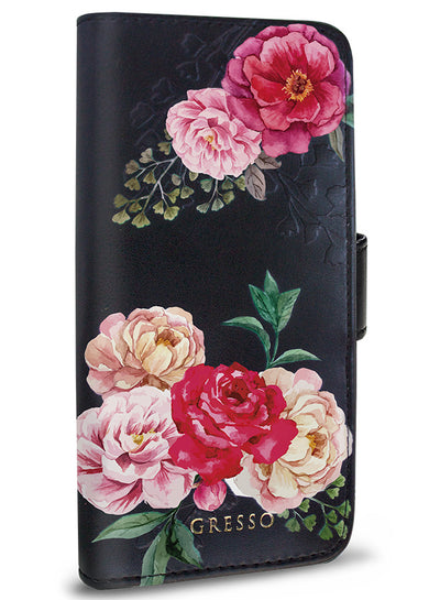 Victorian Garden - Pink Rose Wallet -  iPhone 7